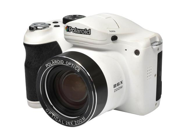 dens iS2634 26x Optical Super Zoom Digital Camera (White) - Newegg com