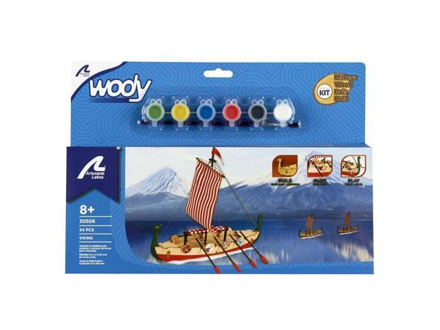My First Wooden Kit Viking Boat Neweggcom