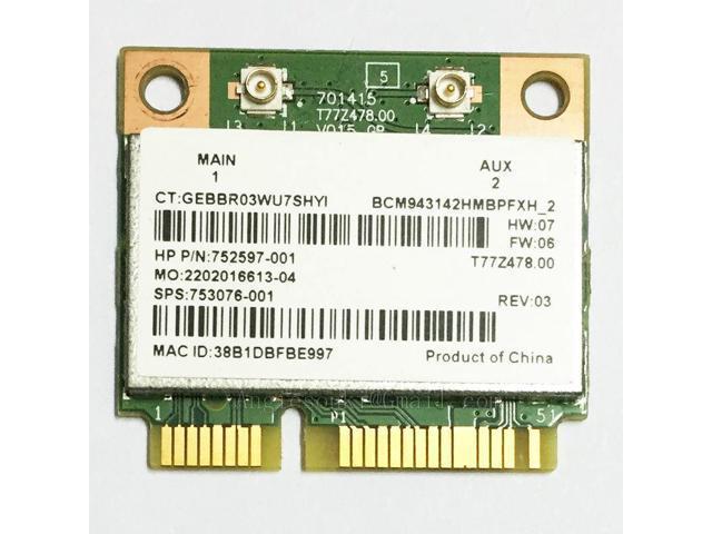 04W3808 Wireless,WLAN,FXN,8188EE HMC