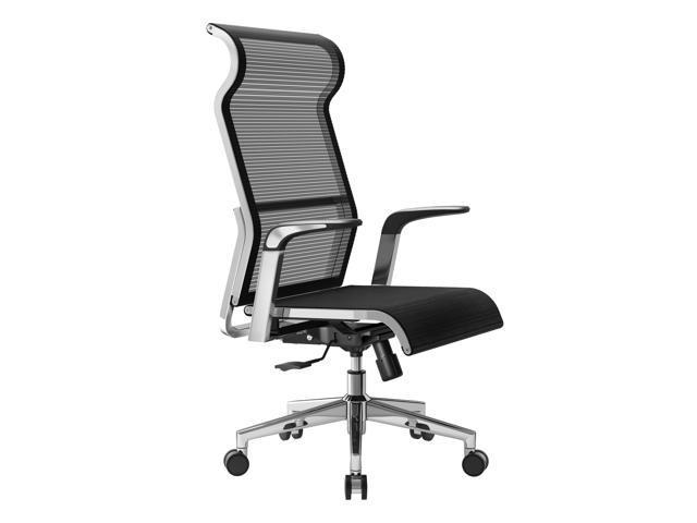 SIHOO X1 Executive High Back Mesh Ergonomic Office Chair Computer Chair,  With Large Headrest, Adjustable Swivel Task Chair (Black) - Newegg com