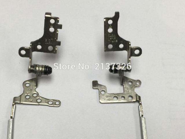 Right 17 L R 500622-001 Laptops Replacements LCD Hinges Fit For HP CQ70 G70 LCD Hinge Steel Bracket Left