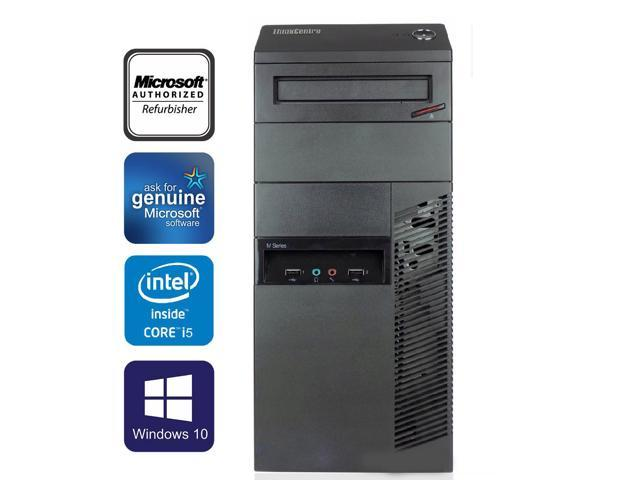 Refurbished: Lenovo ThinkCentre M91p Tower Desktop Computer Intel Core i5  2400 16GB 2TB HDD DVD Windows 10 Professional New Keyboard, Mouse,Power