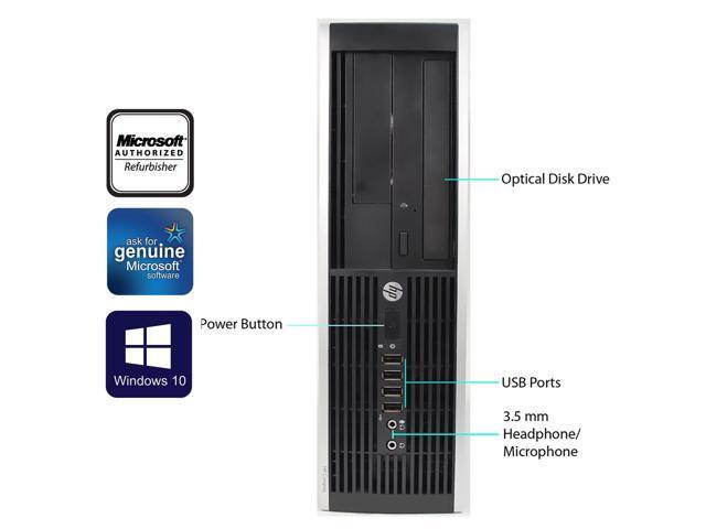 Refurbished HP Compaq Desktop PCs - From $139 99 Shipped