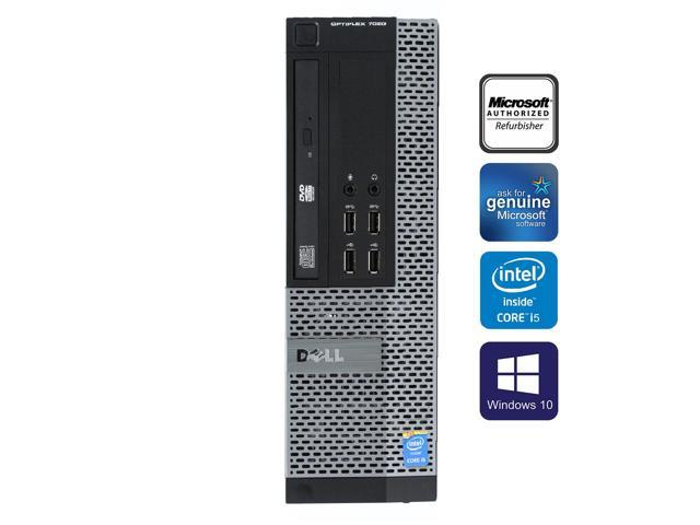 Dell Optiplex 7020 SFF Desktop Computer Intel Core i5 4570 8GB 250GB HDD  DVD Windows 10 Professional New Free Keyboard, Mouse,Power cord,WiFi  Adapter