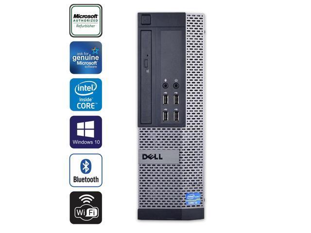 Refurbished: Dell OptiPlex 990 SFF Desktop PC Computer Intel Core i5 2400  16GB RAM 256GB SSD DVD Windows 10 Home New keyboard,mouse,powercord,WiFi- -