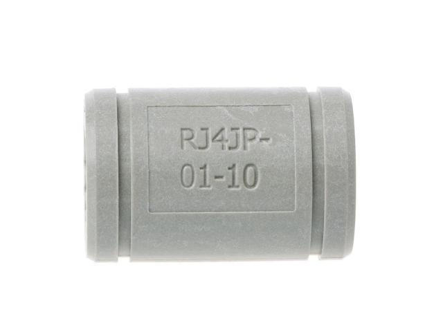2 Pcs 3D Printer Solid Polymer LM10UU Bearing 10mm shaft Igus Drylin RJ4JP-01-10