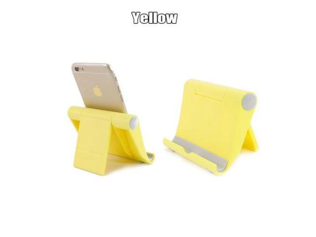 Astonishing Universal Adjustable Portable Desk Tablet Stand Holder For All Smart Phone Ipad Air Yellow Gmtry Best Dining Table And Chair Ideas Images Gmtryco