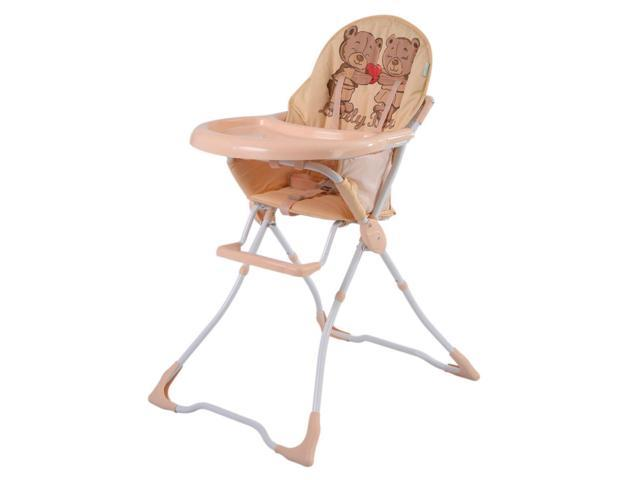 Magnificent Baby High Chair Infant Toddler Feeding Booster Seat Folding Safe Portable Tan Newegg Com Lamtechconsult Wood Chair Design Ideas Lamtechconsultcom