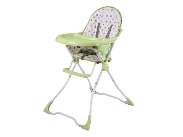 Pleasing Baby High Chair Infant Toddler Feeding Booster Seat Folding Safe Portable Green Newegg Com Spiritservingveterans Wood Chair Design Ideas Spiritservingveteransorg