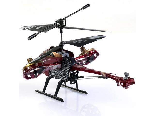 New Skytech 4 5CH M12 Infrared RC Helicopter Shoot Bubbles With Gyro 3  Color-black - Newegg com