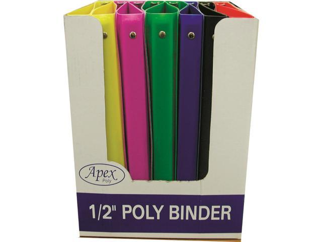 2 Inch Lime Green 3 Ring View Binder