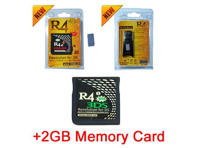 R4i Gold 3DS + 2GB Memory Card Combo , R4i Gold 3DS Plus with Magnet  Support ntrboot 3DS FlashCard for All 3DS 2DS DSi NDS and NDSL - Newegg ca