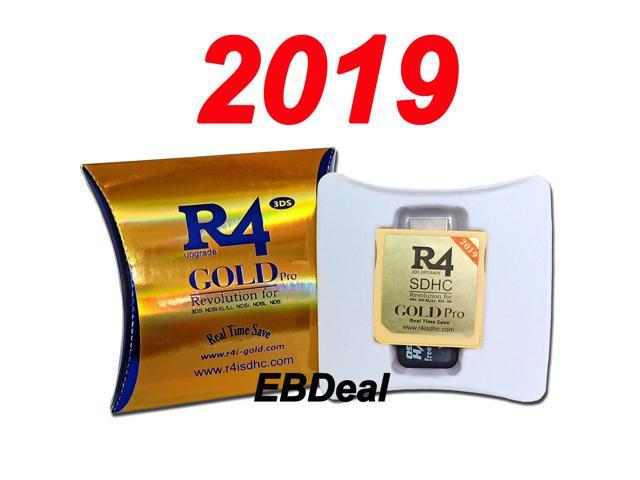 Buy New 2019 R4i Gold 3DS R4i3DS R4i Gold Pro R4 Gold Card for Nintendo New  3DS, 3DS, 2DS, DSi ,NDSL