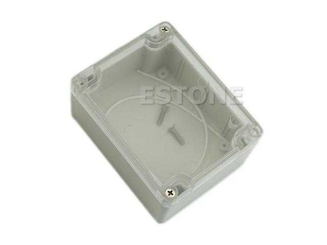 Clear Cable Connect Electric Switch Junction Box 115 x 90 x 55mm