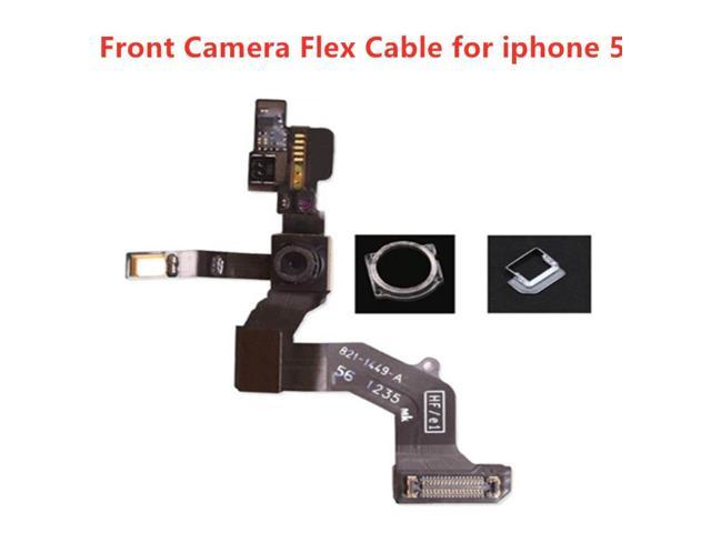 1Pc High Quality For iPhone 5 Front Facing Camera Right Proximity Sensor  Flex Cable With Microphone Assembly Tool - Newegg com