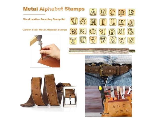 GENUINE LEATHER STAMPS FREE Leather Stamp Clamp with Any 3 Sets of Stamps.