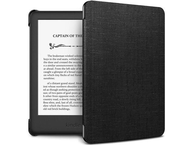 INFILAND Kindle 10th Gen 2019 Case, Shell Case Cover Auto Wake/Sleep  Compatible with All-New Kindle 10th Generation 2019 Release Only, Black -