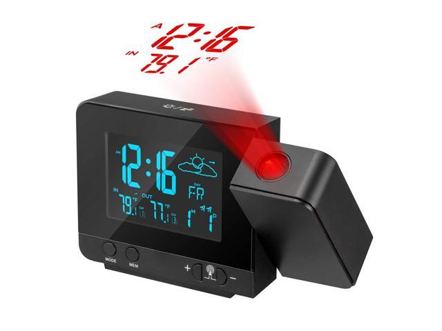 Projection Alarm Clock On Ceiling Wall
