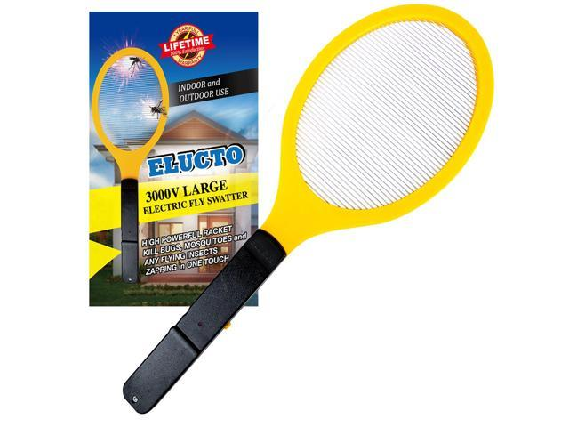 Elucto Large Electric Bug Zapper Fly Swatter Zap Mosquito Best for Indoor  and Outdoor Pest Control - Newegg com