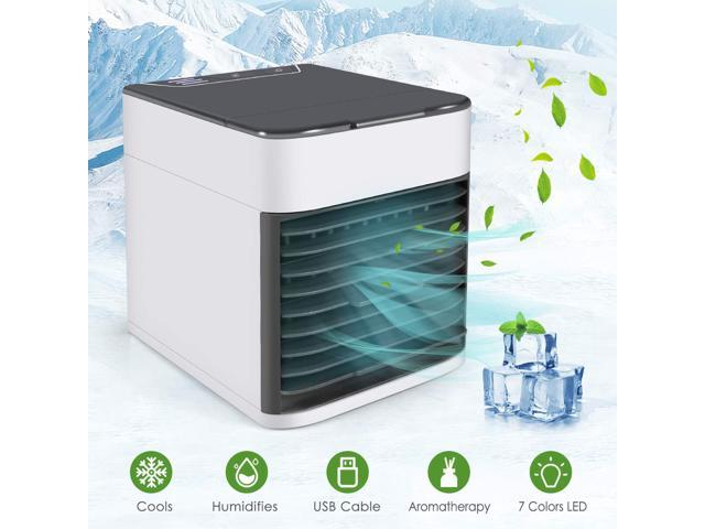 Air Conditioner Fan, Air Personal Space Cooler Small Desktop