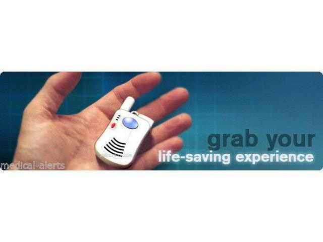 Senior Alert Help Dialer with 2 Panic Buttons No Monthly Fees