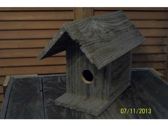 Rustic Wooden Birdhousesnatural Painted Stained Or Engraved Or Custom Branding Neweggcom