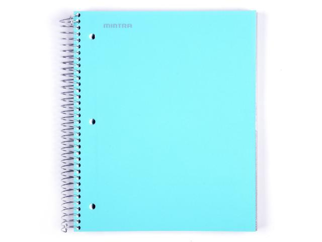 Mintra Office Durable Spiral Notebooks, 5 Subject, College Ruled -  Newegg com