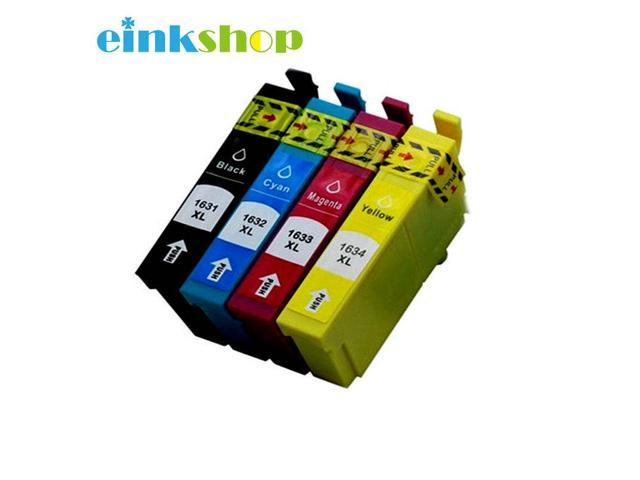 4PK 16 16XL Compatible ink cartridge for Epson WorkForce 2010 2510 2520  2530 2540 2750 2760 Printer T1631 -T1634 T1621 - Newegg com
