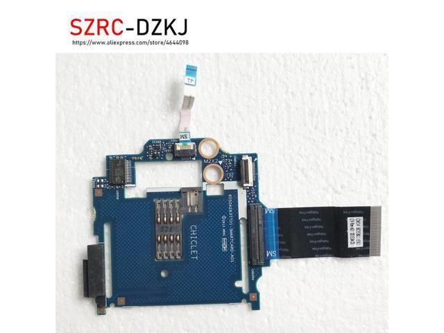 HP ProBook 640 G1 650 G1 USB RJ-45 Card  Reader Board 738400-001  6050A2566901