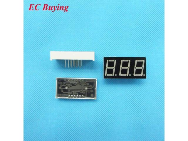 "50pcs 2bit Common Cathode Digital Tube 0.56/"" 0.56in Red LED Digit 7 Segment"