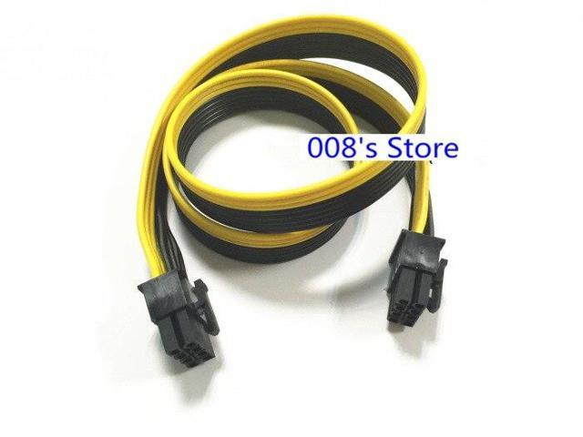 NEW Power Supply Cable For GPU Graphics Card 8 Pin(M) to 8 Pin(M)  Conversion Line Public Line 18AWG 60cm - Newegg com