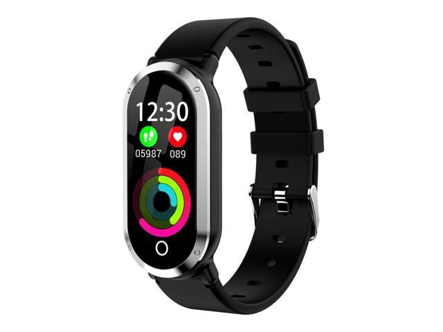 T1 Smart Bracelet Ip67 Waterproof Sports Count Calorie Heart Rate  Monitoring Intelligent Reminder Smart Bracelet For Android Ios(Silver) -  Newegg com