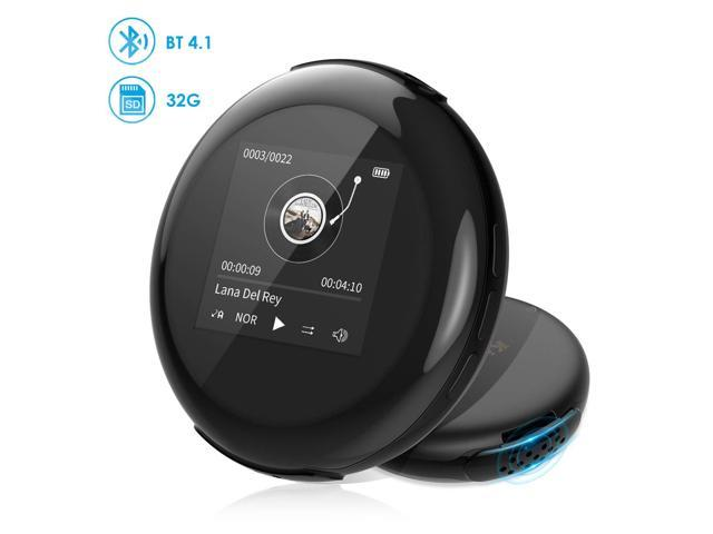 MP3 Player,32GB HiFi Lossless Music Player with Bluetooth 4 1,High  Resolution Lossless Digital Audio Walkman with Video E-Book Digital  Recording FM