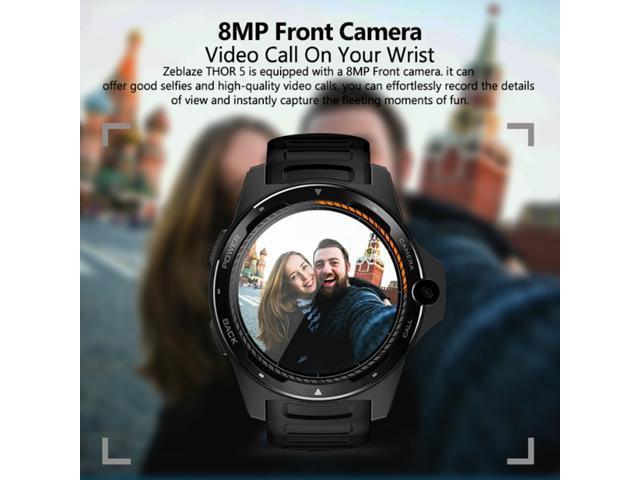 Zeblaze THOR 5 5 SmartWatch Quad Core 2G+16G 525mAH GPS/GLONASS  Android7 1 1 Watch Music Smart Assistant Sport Smart Watch Phone -  Newegg com