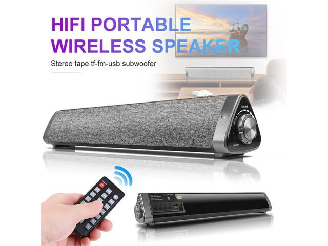 Remote Control VersionTECH 20W Bluetooth Sound Bar Computer Speaker Wired Wireless Soundbar Home Theater for Desktop//Laptop PC//Projectors//Smartphone//TV