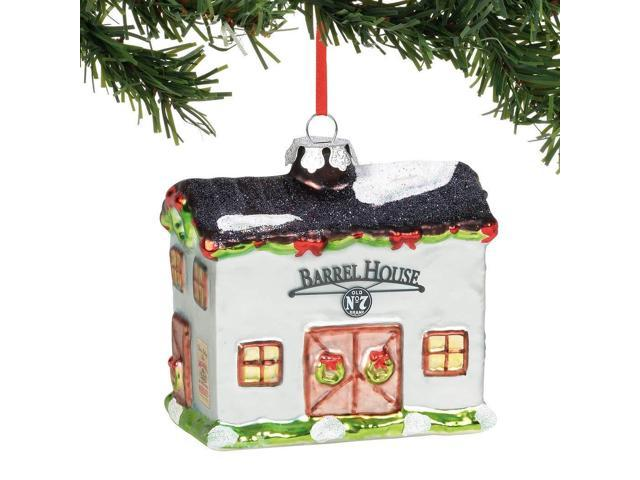 Department 56 Jack Daniels Hanging Barrel House Christmas Tree Ornament 6000415