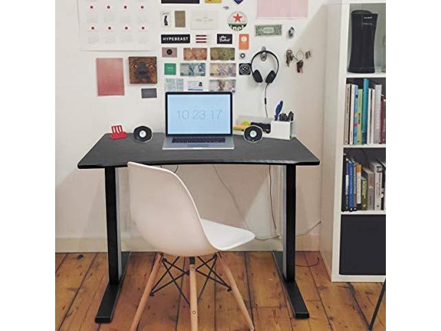 Electric Stand Up Desk Frame Height Adjustable Standing Base Single Motor Diy Workstation With Memory Controller Newegg Com