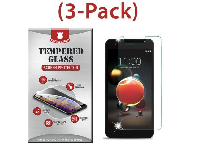 (3-Pack) Tempered Glass Film Screen Protector For LG Phoenix 4 - Newegg com