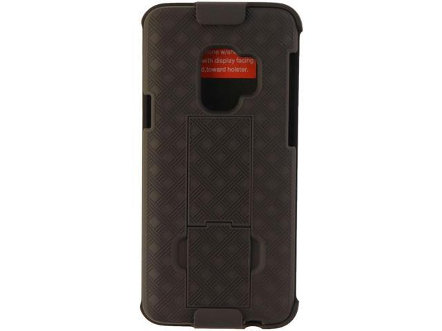 Verizon Shell Case and Holster Combo for Samsung Galaxy S9 Smartphones -  Black - Newegg com