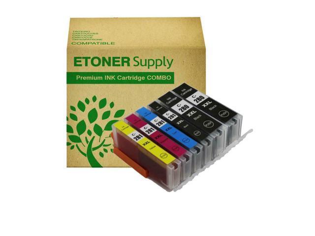 6 pack PGI280XXL ink Cartridge fits Canon Canon PIXMA TR7520 Printer BEST DEAL!
