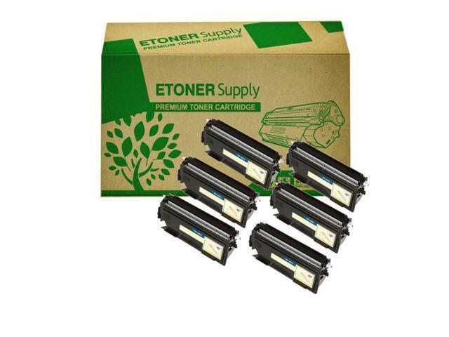 6 TN-460 Toner Cartridge For  DCP-1200 DCP-1400