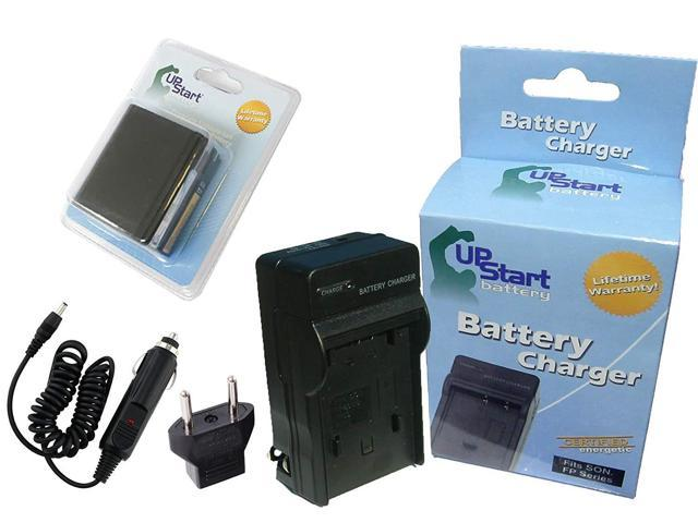 7500mAh, 7.4V, Lithium-Ion Canon BP-970G Battery and Charger Replacement Kit for Canon Camcorders