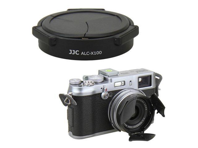 JJC Switch Open Lens Cap Lens Protector Shade for Fujifilm X100F X100T  X100S X100 Digital Camera/Black - Newegg com