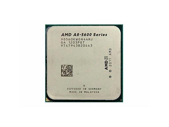 Refurbished: AMD A8-5600K Trinity Quad-Core 3 6GHz (3 9GHz Turbo) Socket  FM2 904-pin 100W Desktop APU (CPU + GPU) - Newegg com
