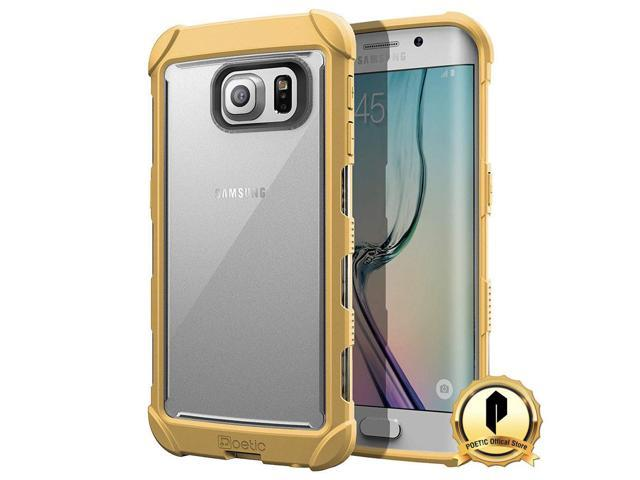 Poetic For Samsung Galaxy S6 Edge Case Affinity Corner Protection Gold Neweggcom