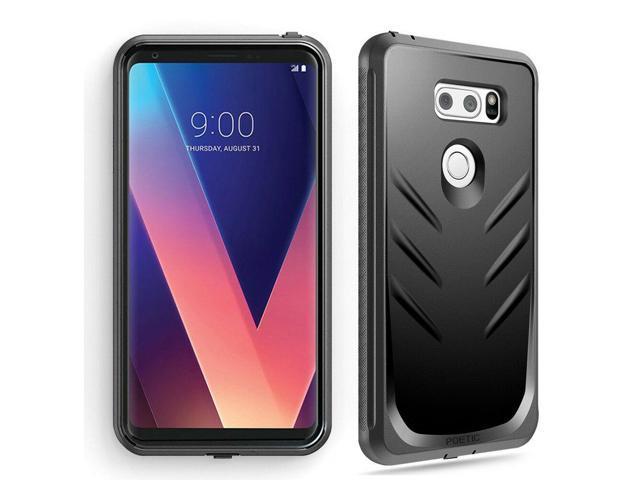 Full Coverage Shockproof Cover Case For LG V30 / LG V35 ThinQ / V30 Plus  Black - Newegg com