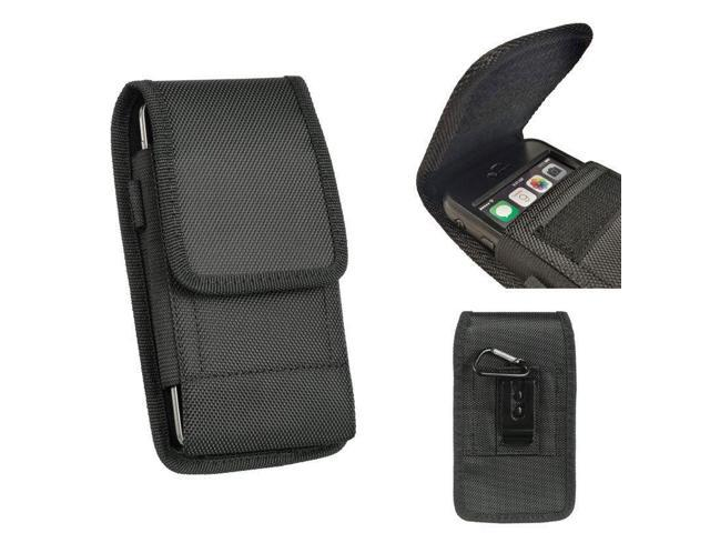Heavy Duty Black Nylon Pouch Case Belt Loop Clip Holster For ZTE Blade Max  View - Newegg com