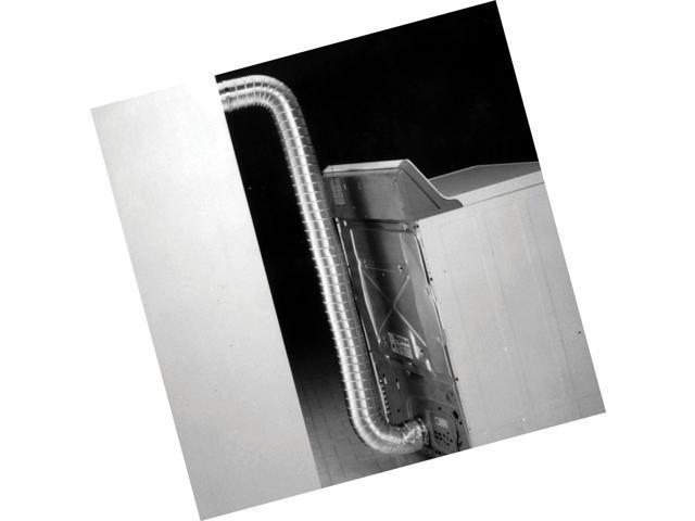 Non-Crimped Silver Semi Rigid Aluminum Duct