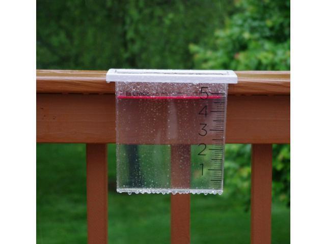 705-109 La Crosse Waterfall Rain Gauge with Floating Rain Marker