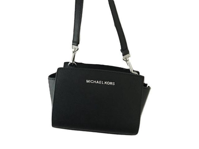 online shop to buy 60% discount Michael Kors Selma Mini Saffiano Leather Crossbody Bag - Newegg.com